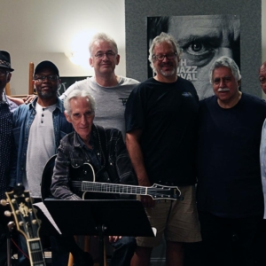 Recording session with Christian McBride, Lewis Nash, Pat Martino, Ralf Kemper, Steve, Vinnie Corrao and Kenny Barron