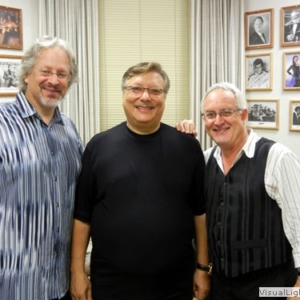 BS&T Trumpet with Arturo Sandoval before a show